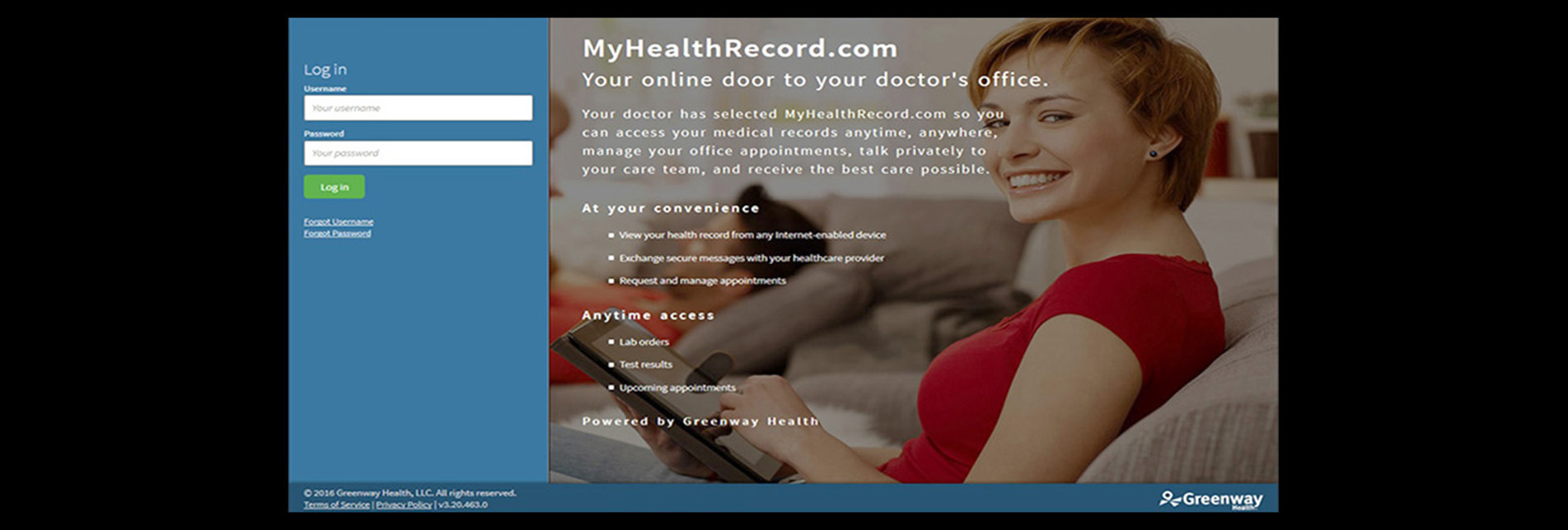 ATTENTION ALL PATIENTS: DR. LAKIN'S NEW SECURE PATIENT PORTAL 'MyHealthRecord.com' IS HERE!