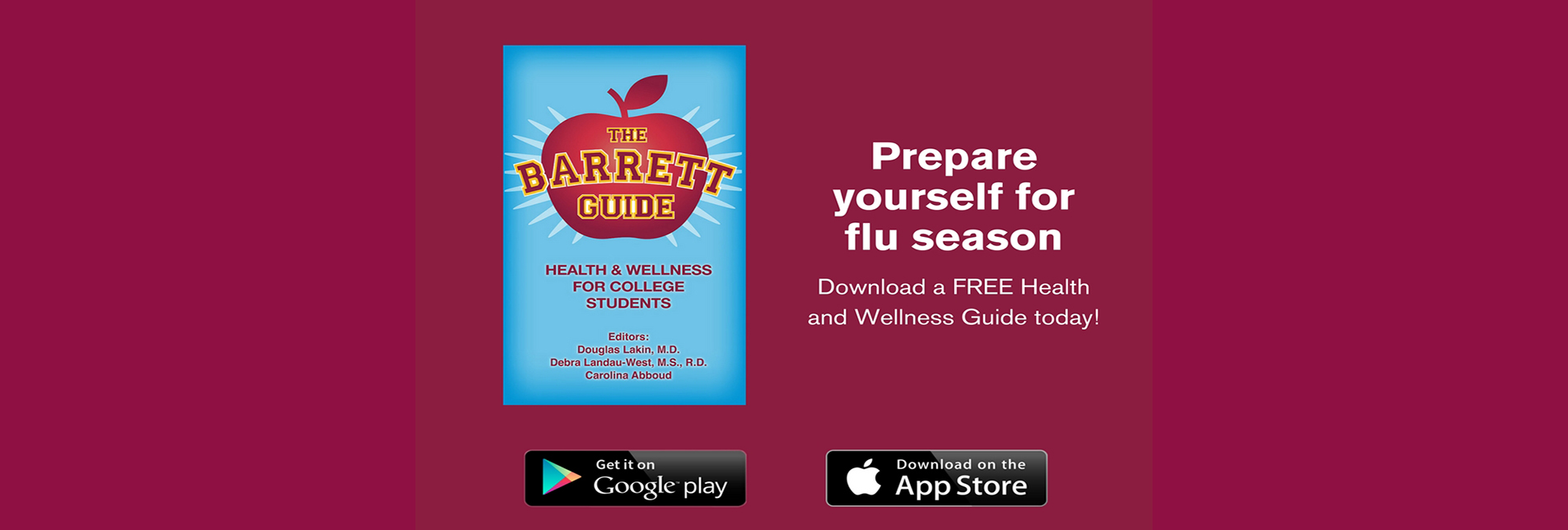 NEW! THE BARRETT GUIDE: Health & Wellness For College Students