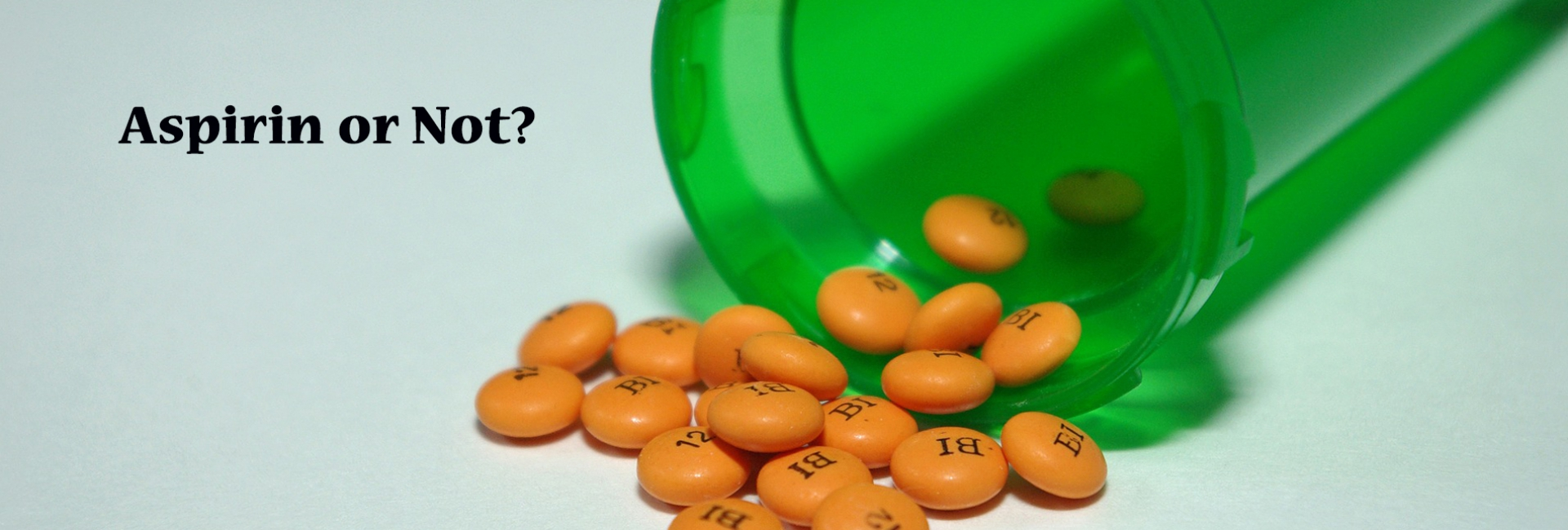 WHAT'S THE DEAL WITH ASPIRIN?
