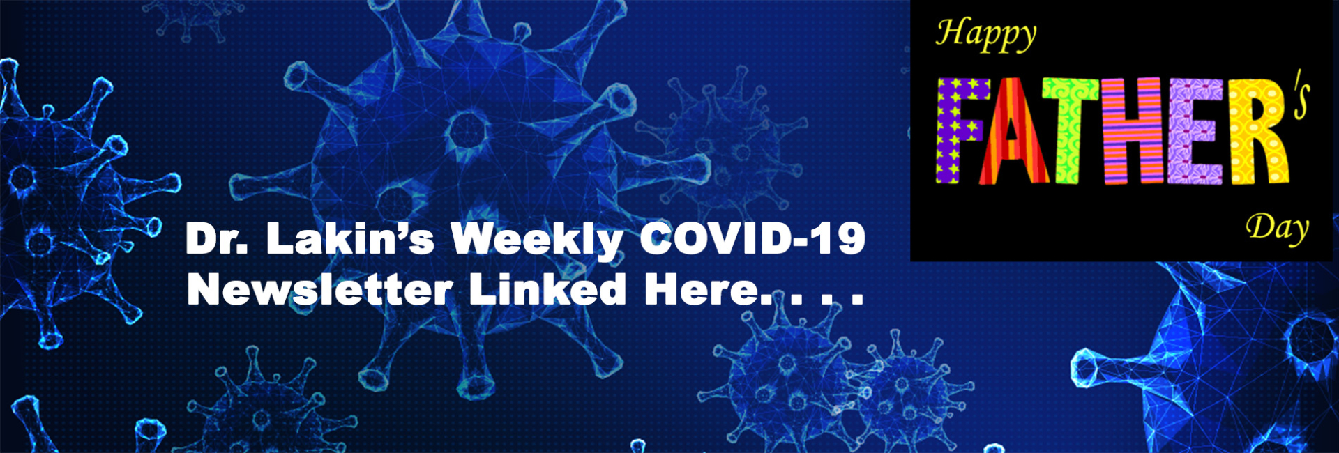 Information For Our Patients:  COVID-19 Updates